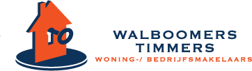 Logo Walboomers & Timmers woning- / bedrijfsmakelaars